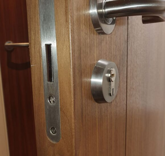 Replacement high security lock